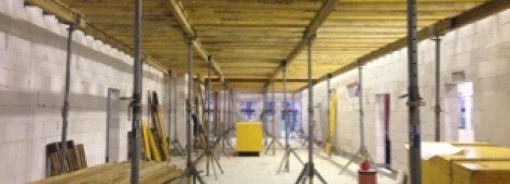 Železobetonové konstrukce - Luže - Hamzova léčebna